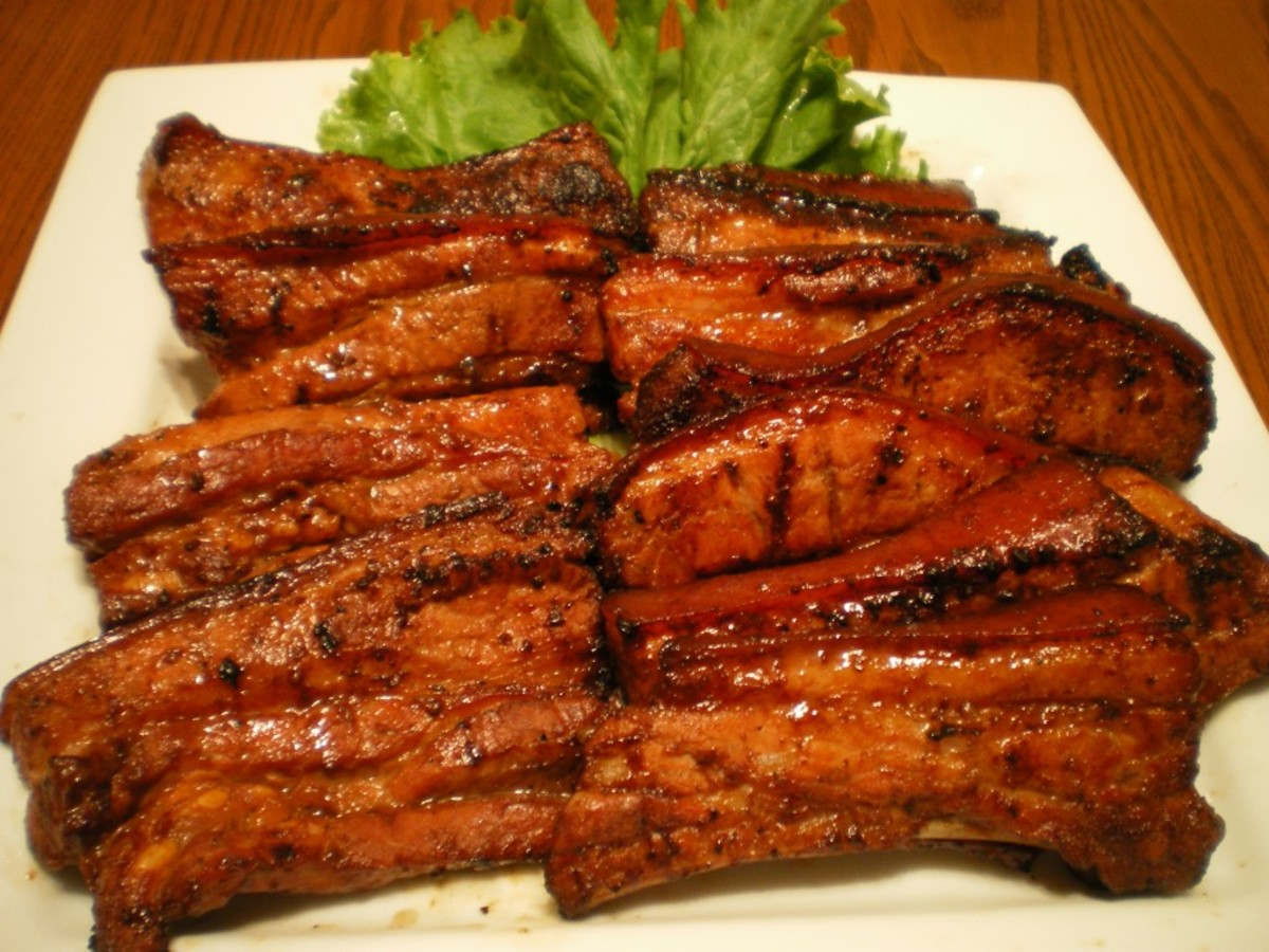 Grilled pork belly is sinfully satisfying. :)