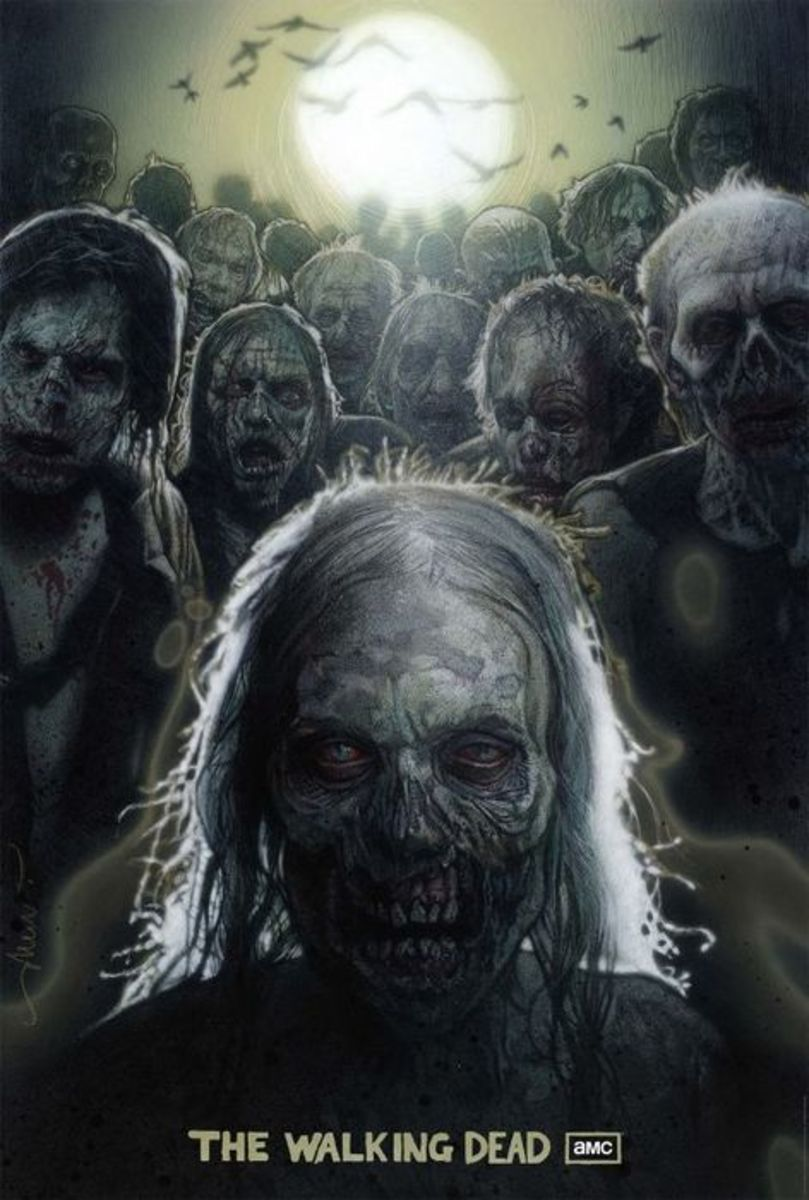 Stay ahead and out of the reach of the walking dead