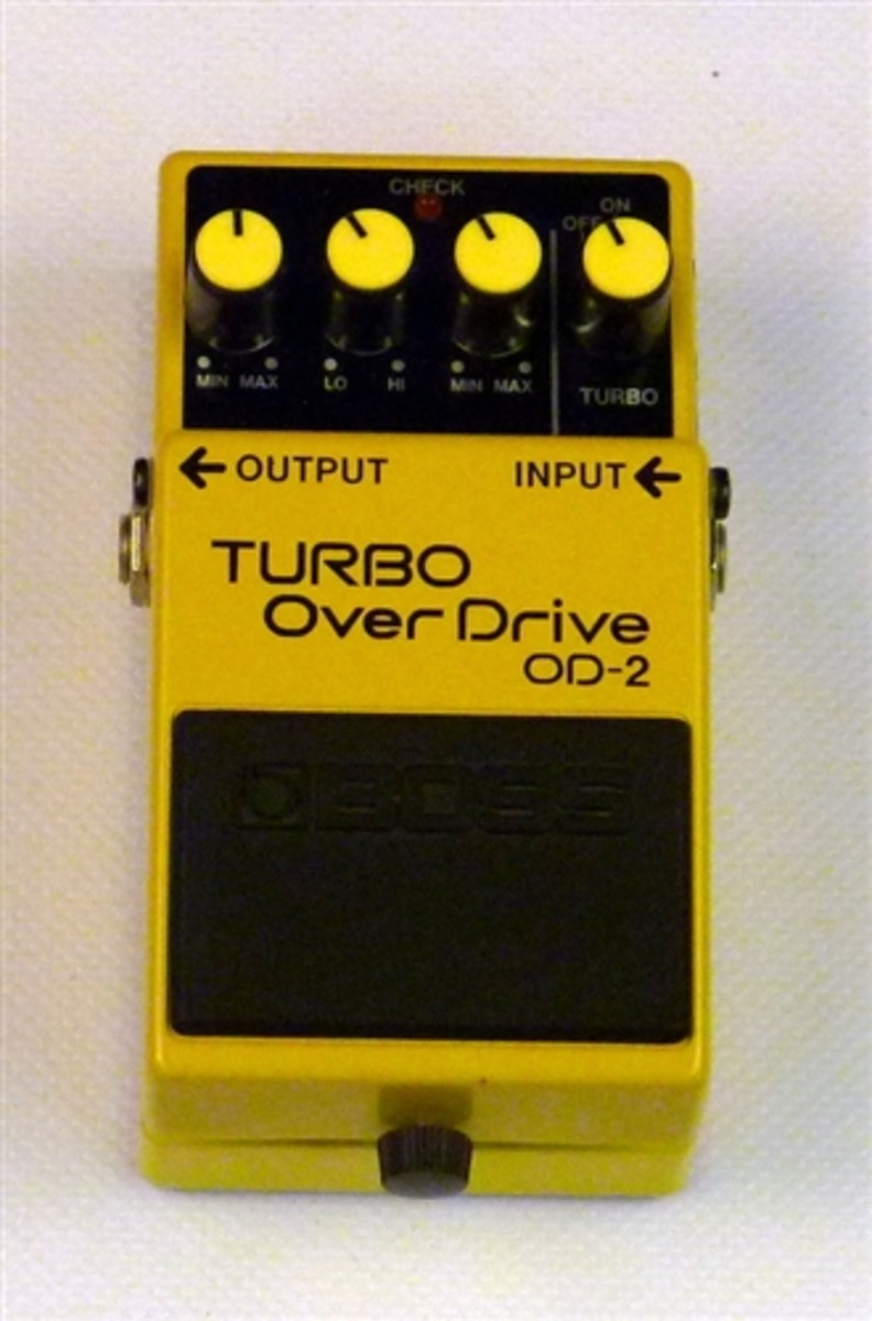 Boss OD-2 Turbo Overdrive Pedal Review