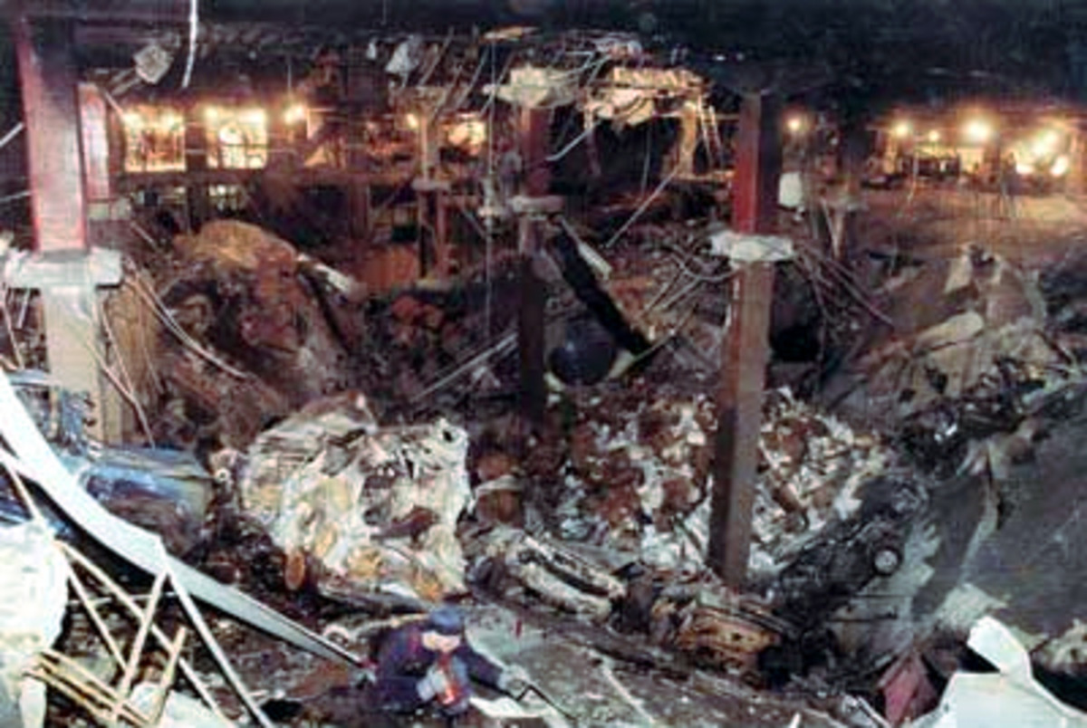 The World Trade Center bombing of 1993 in which six Americans lost their lives.