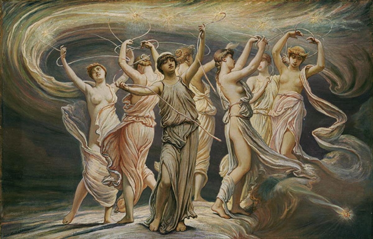 The Pleiades, by Elihu Vedder (1836-1923)