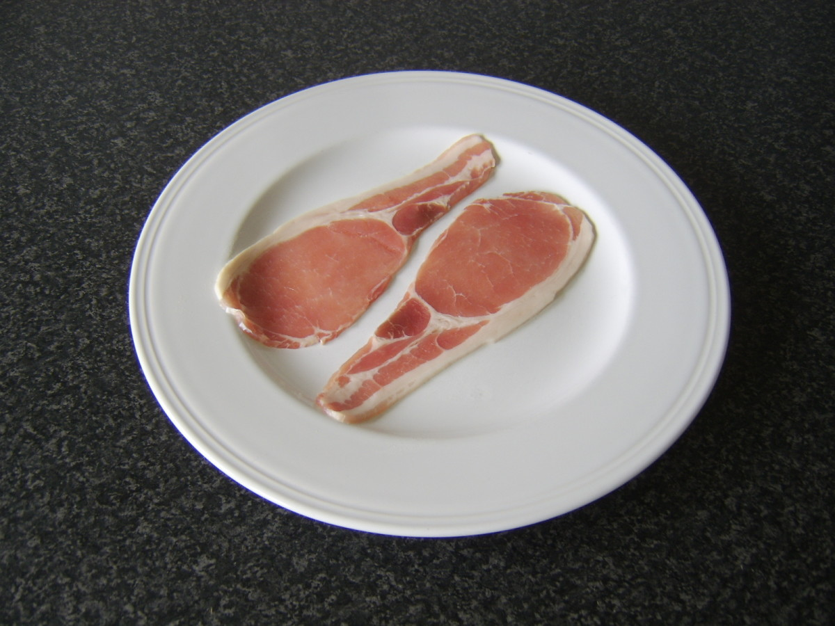 The most popular type of bacon in the UK is back bacon, available either smoked or unsmoked
