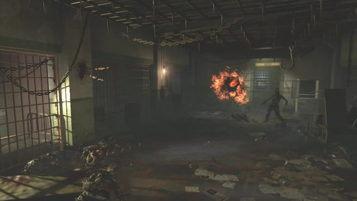 The Infirmary in Alcatraz, Mob of The Dead - Call of Duty: Black Ops 2, Zombies