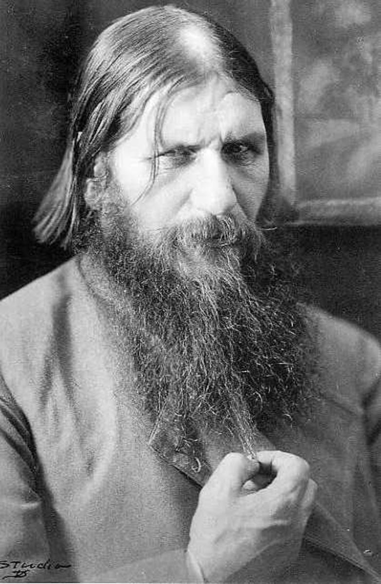 Rasputin in the later years of his life.