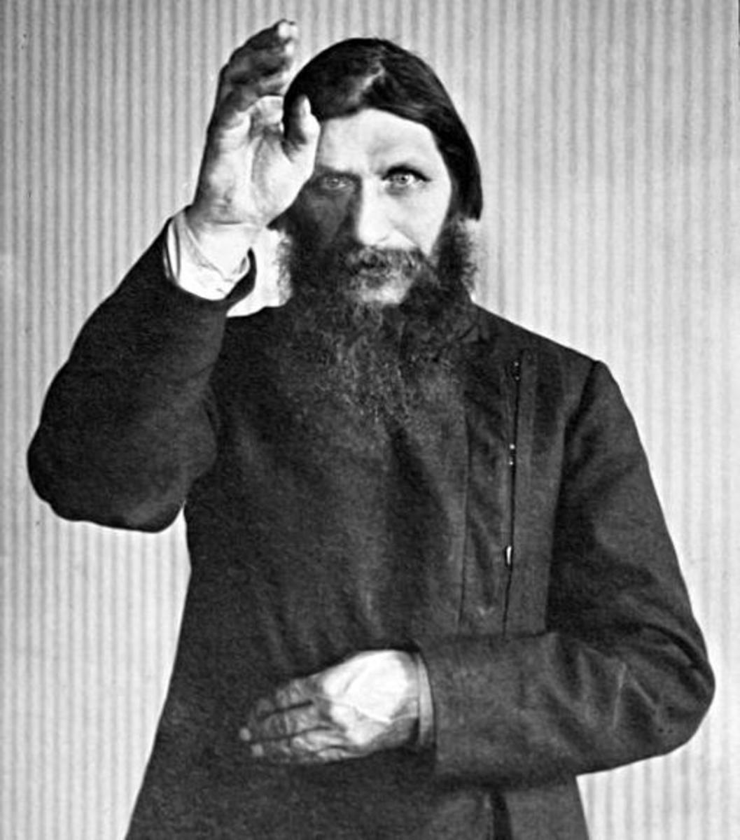 Tsarina Alexandra believed that God could speak to her through Rasputin.