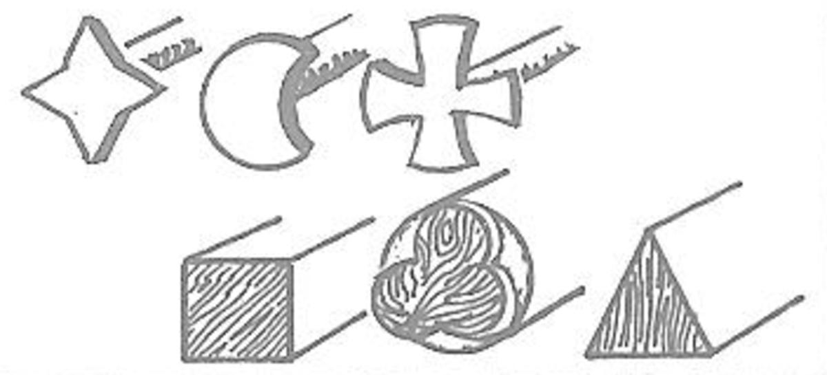 Figure 6: Embossing Stencils