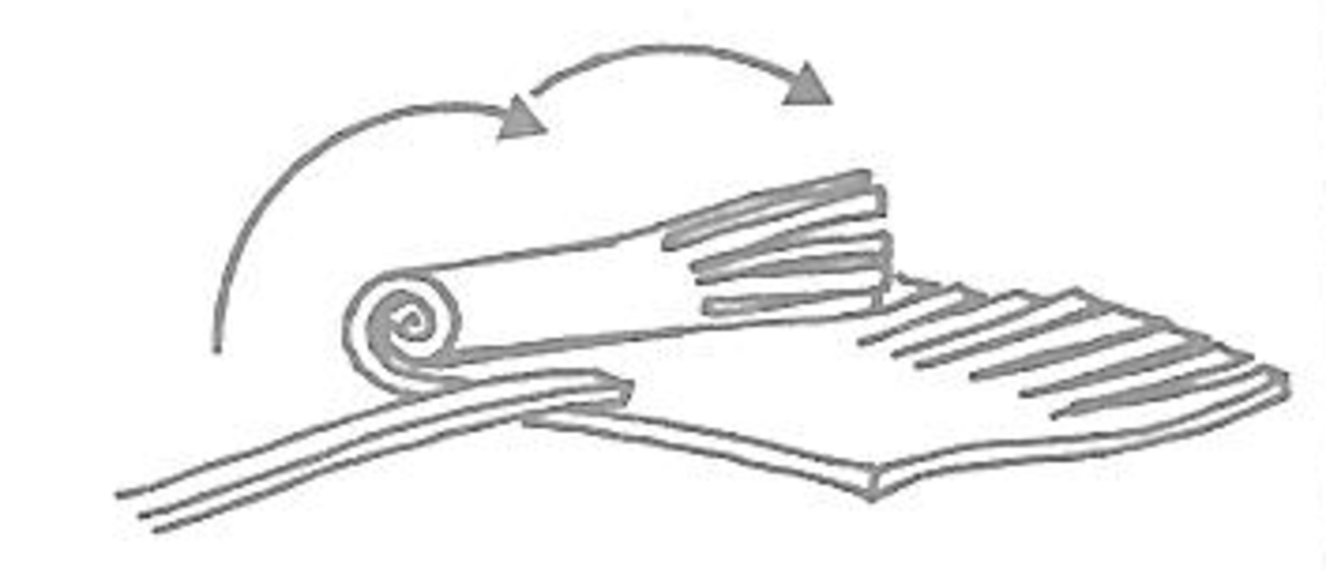 Figure 8: Making a Tassle