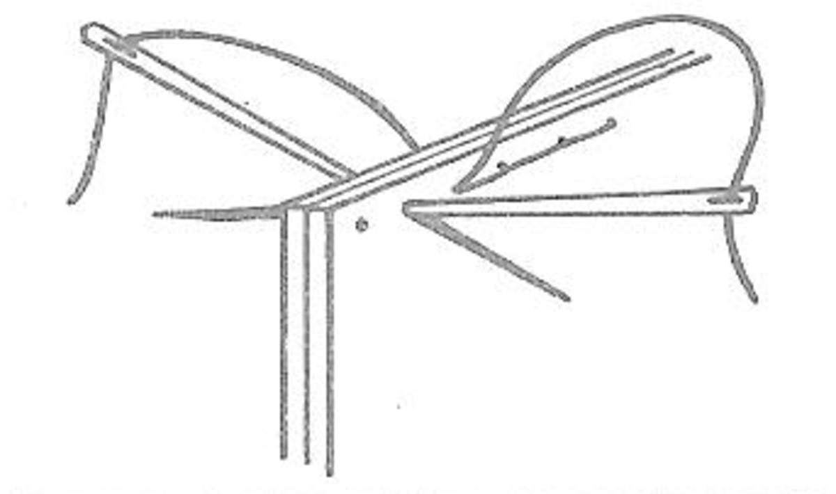Figure 3: Saddle Stitch
