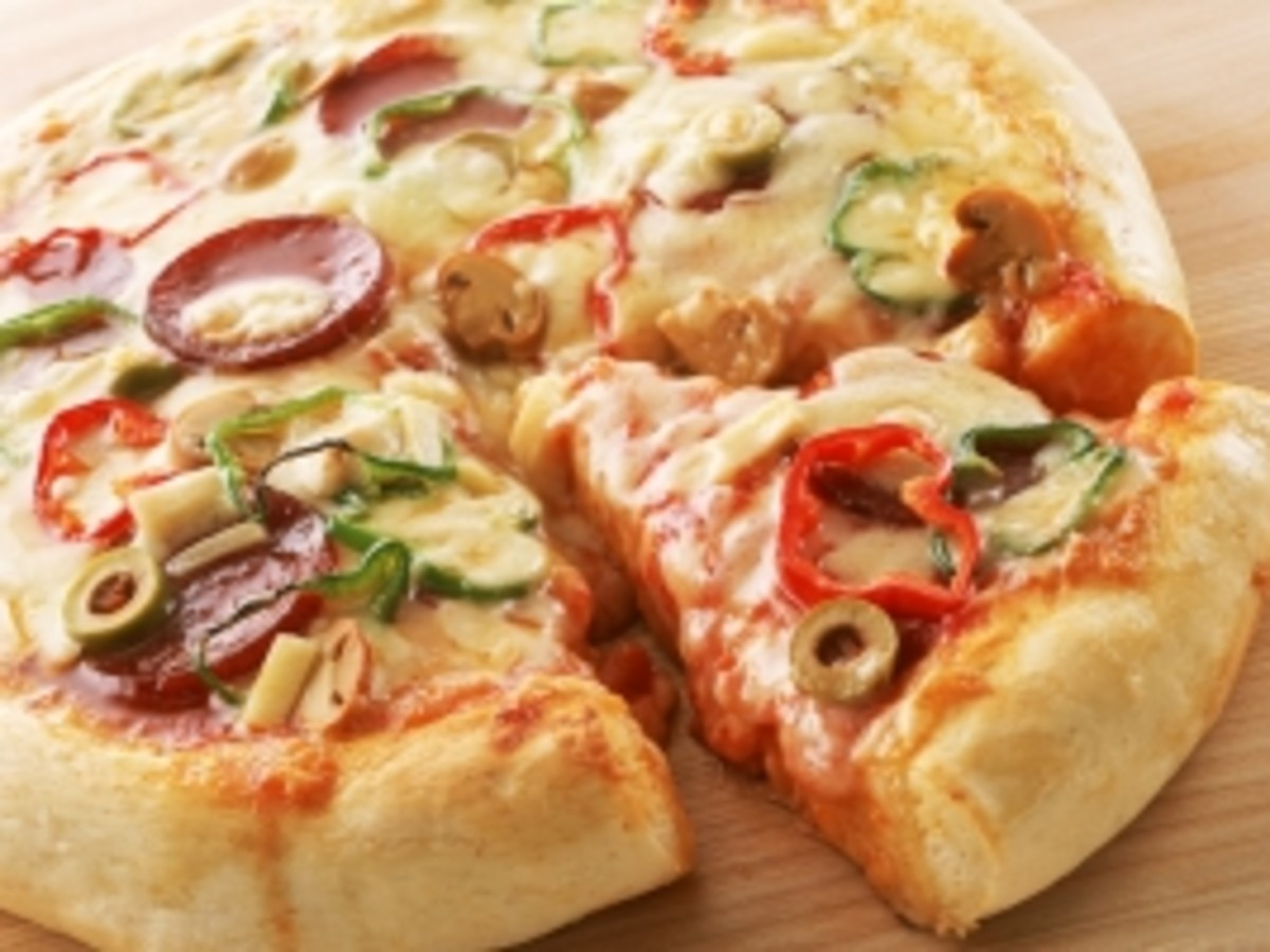 Indian Pan Pizza - Without Yeast