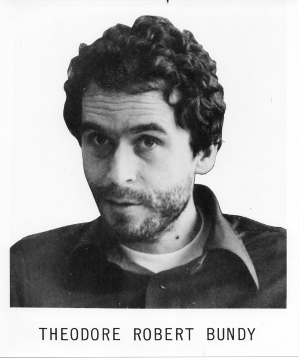 "Theodore ""Ted""  Bundy kept his murders secret for years. His cute and handsome looks hid the monster inside."