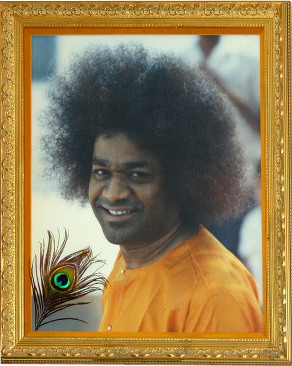 Once you realize the 'pranks' He did, there is no doubt that He is Sai Krishna!