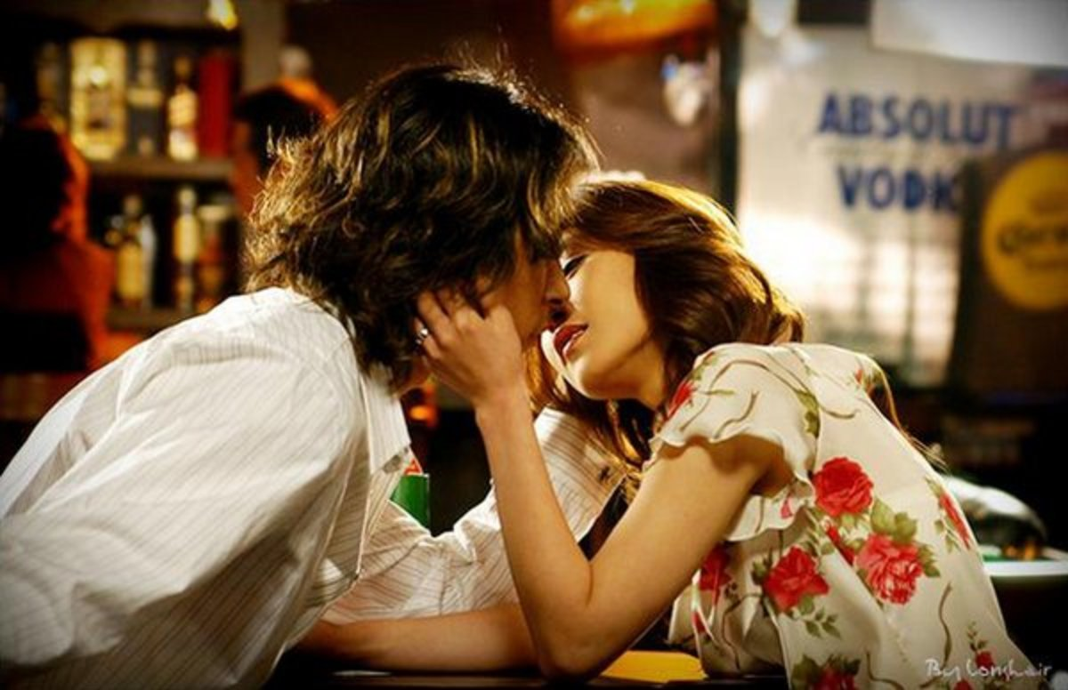 tilted kiss