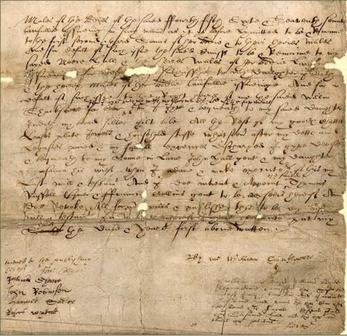 Written During Elizabethan Times