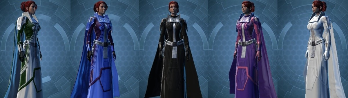 Let the Colors Flow: A SWTOR Dye Modules Guide