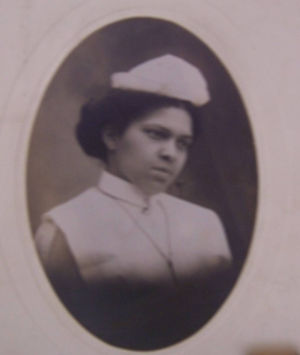 Nurse Jane E. Hunter