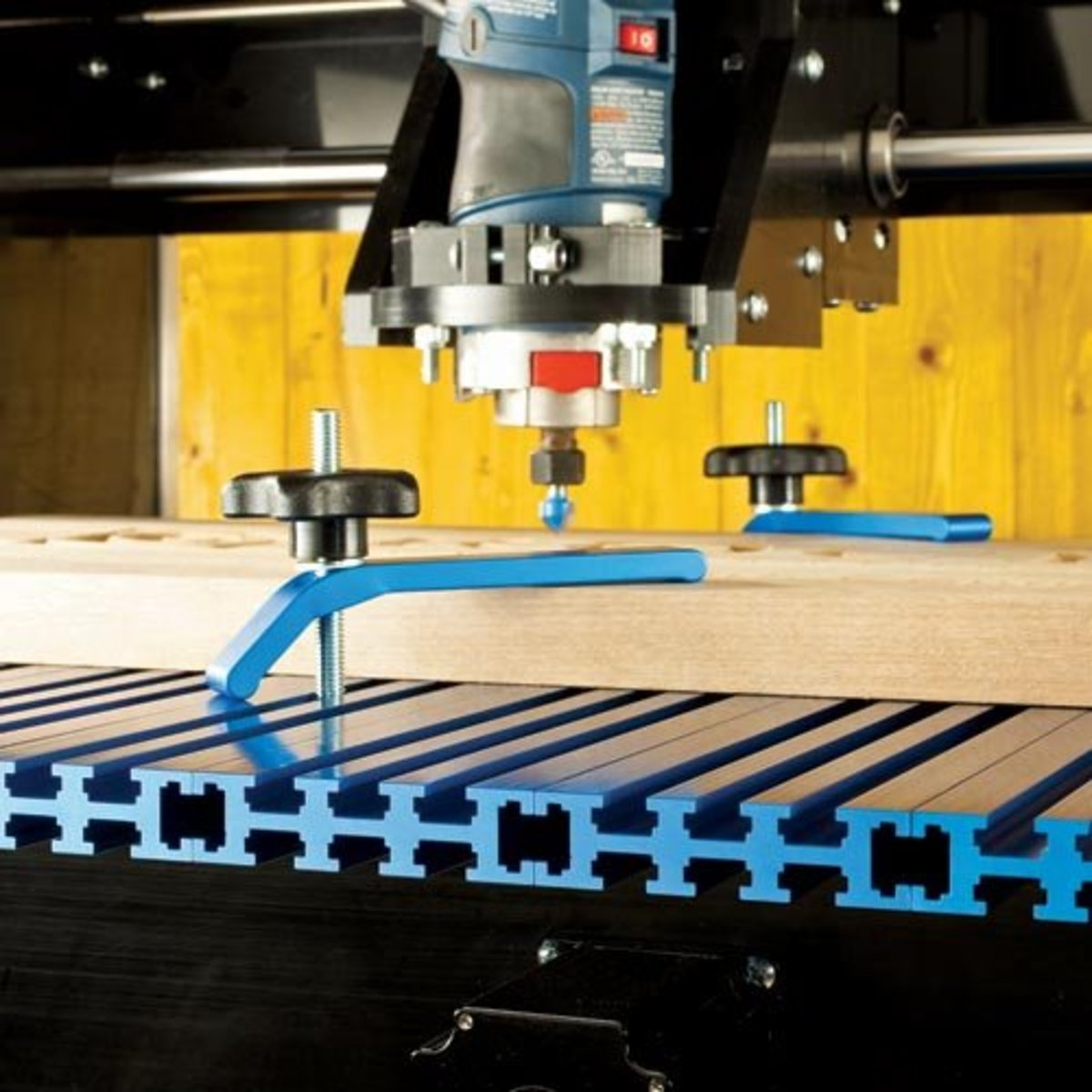 The Rockler CNC Shark Routing System adds another level to what your shop is capable of.