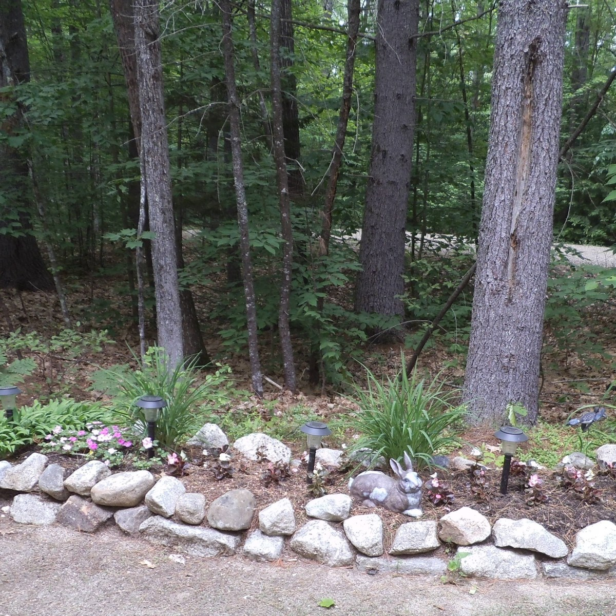 Another rock border in our community.