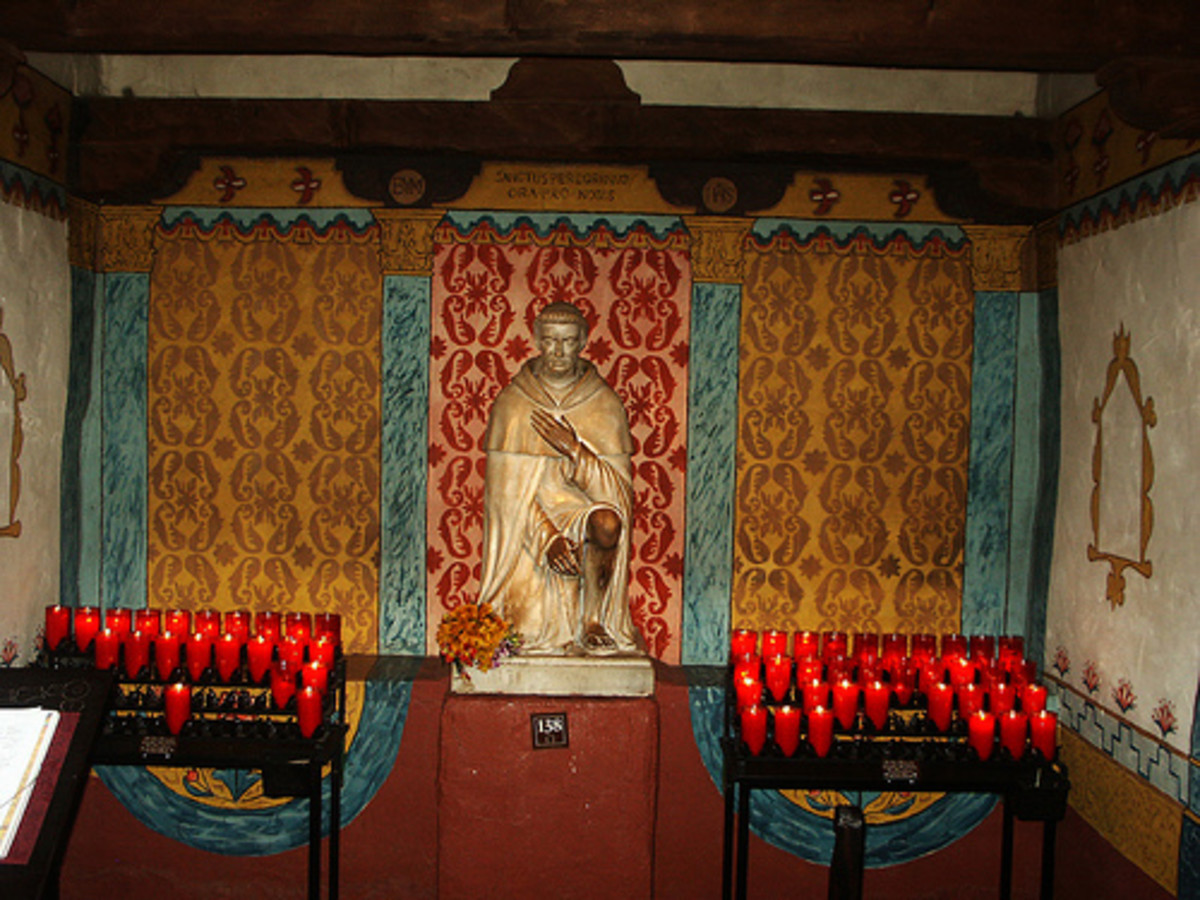 Peregrine Chapel at Mission San Juan Capistrano