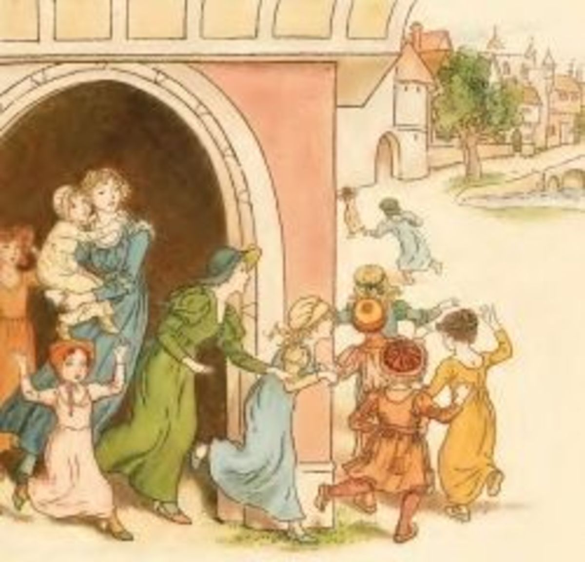 Why kids left the town of Hamelin?