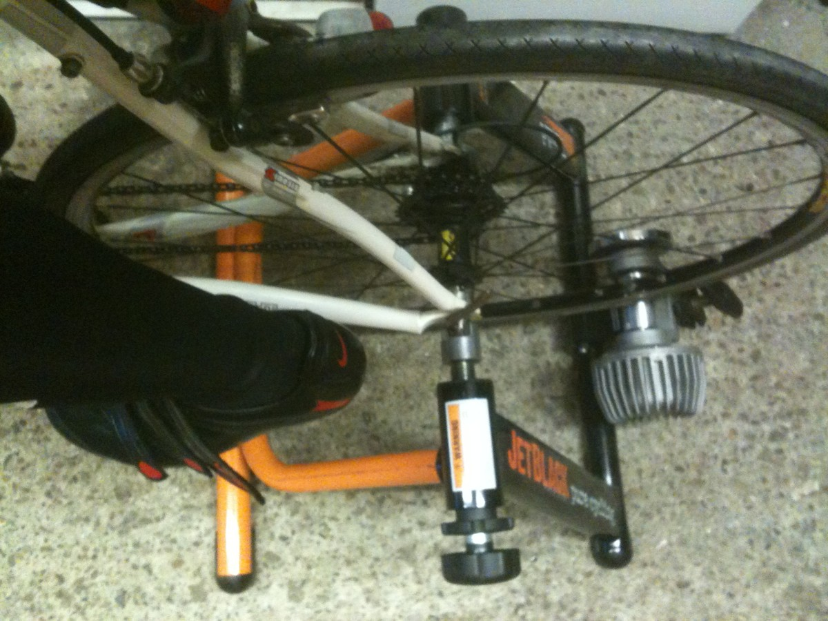 Turbo Trainers convert a bike into a stationary trainer for workouts and can be particularly useful for beginners.