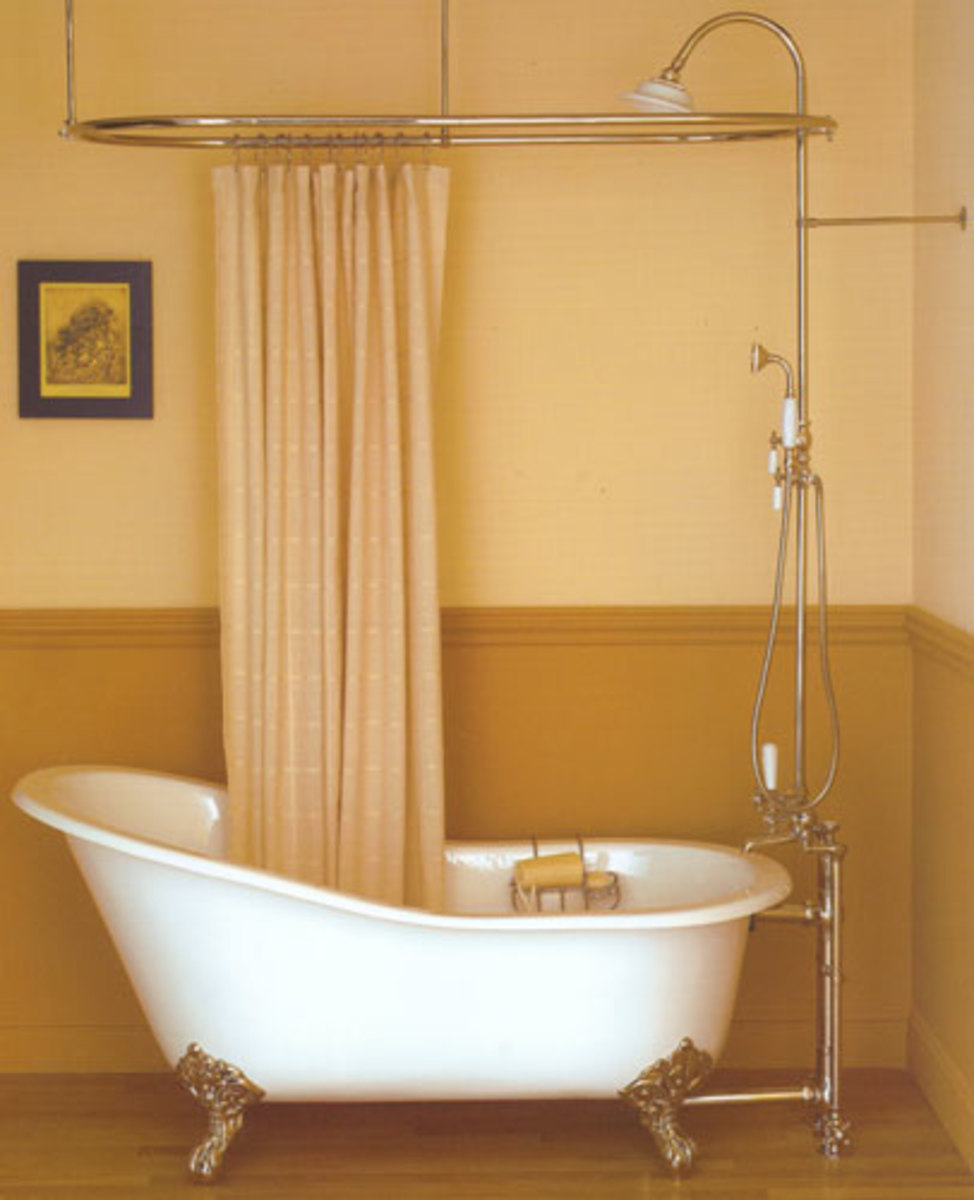 All About Clawfoot Tub Showers Hubpages