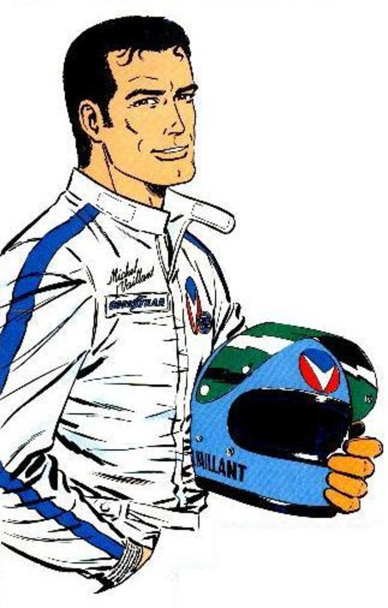 Michel Vaillant. He was known as Michael Valiant in the U.S. version.