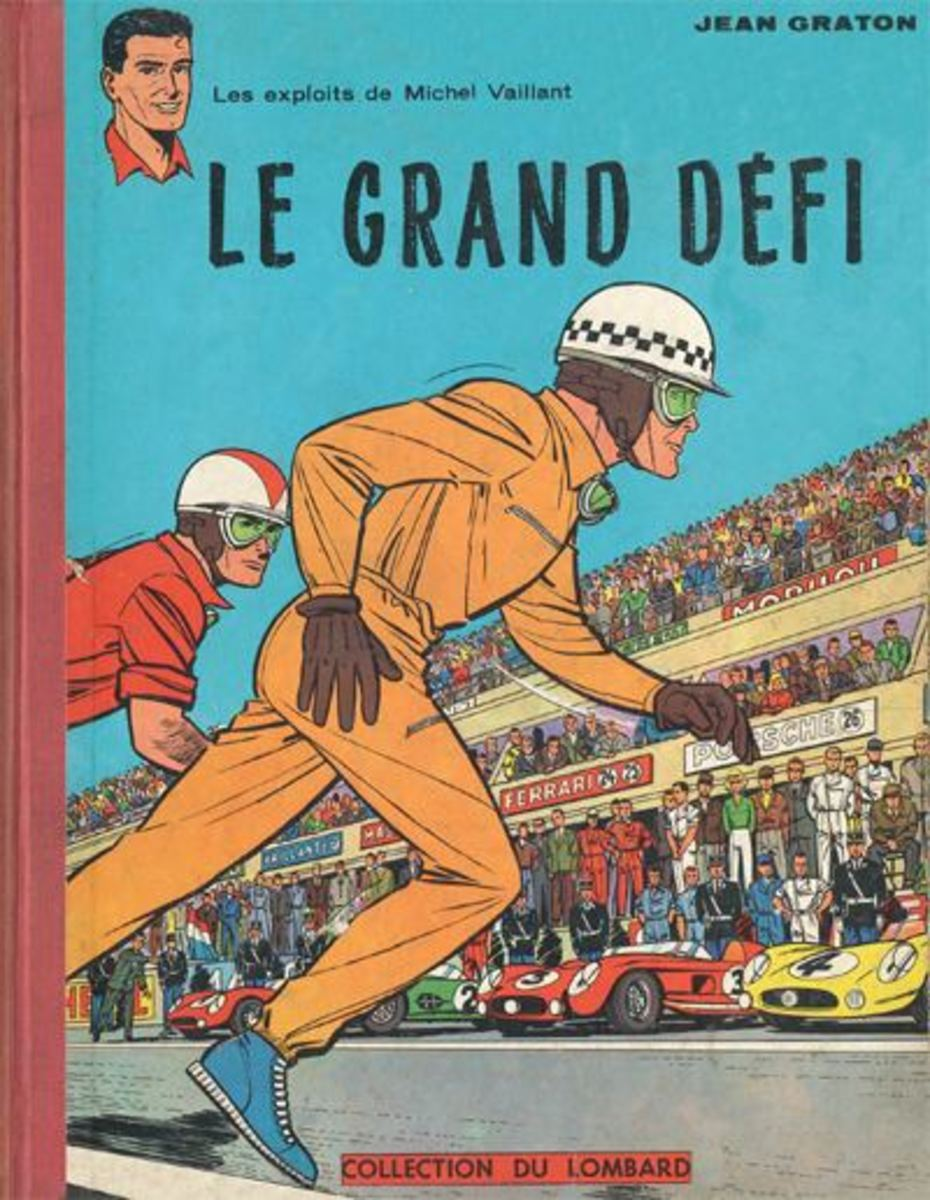 Cover of 'Le Grand Defi', the first title of the series.