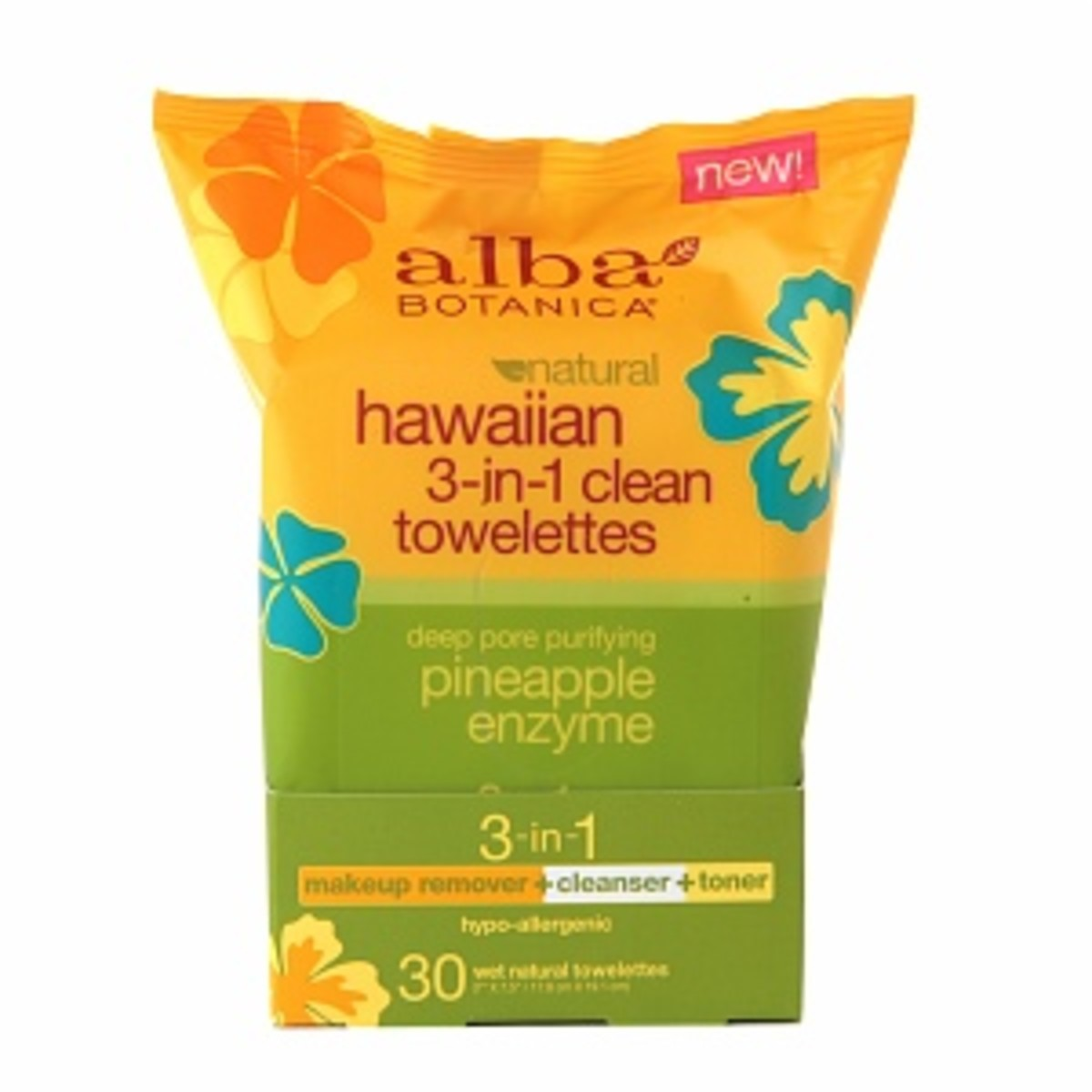 Alba Botanica Hawaiian 3-in-1 Clean Towelettes. I also have Pacifica's Purify Coconut Water Cleansing Wipes.