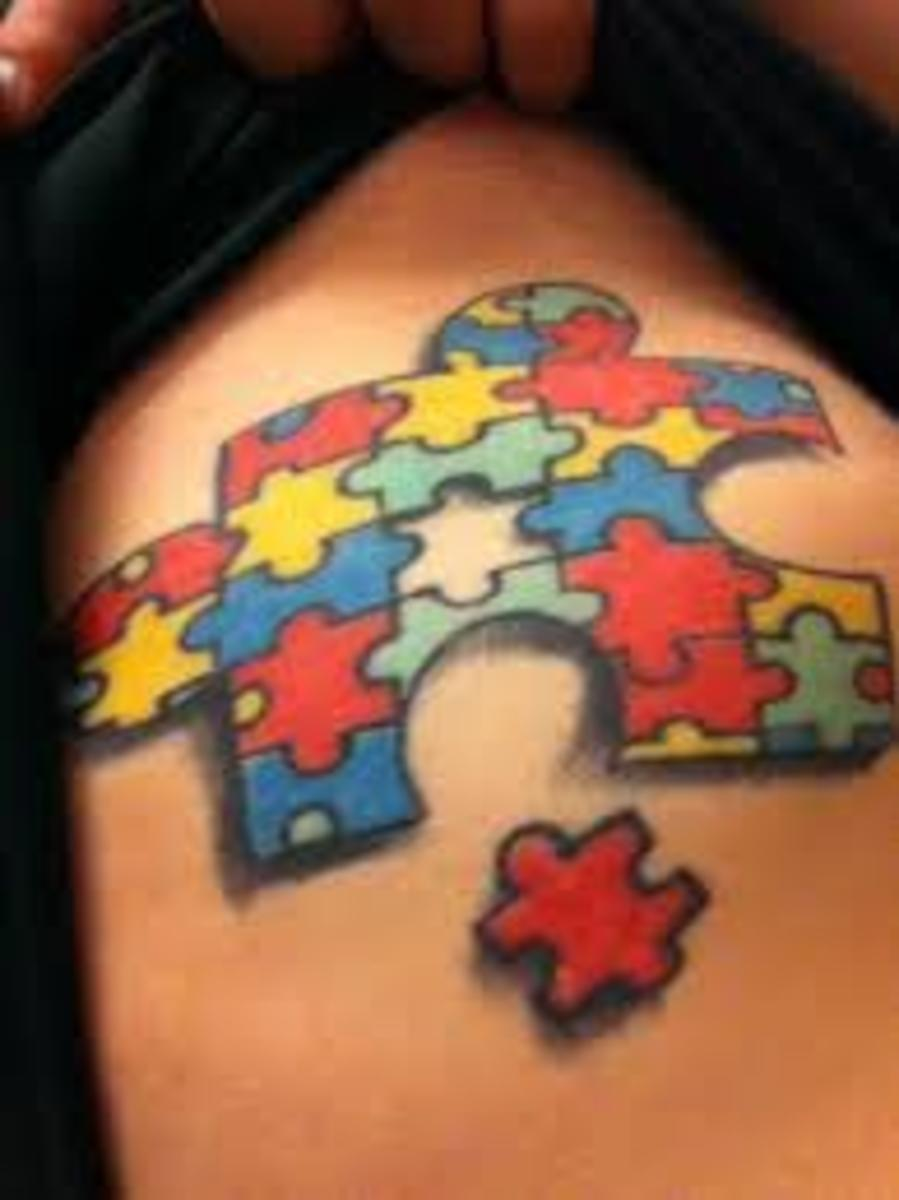Autism tattoos and designs autism tattoo meanings and for Autism tattoos for dads