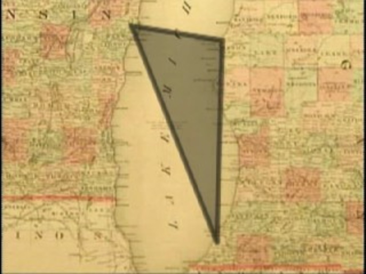 Great Unsolved Mysteries: The Lake Michigan Triangle