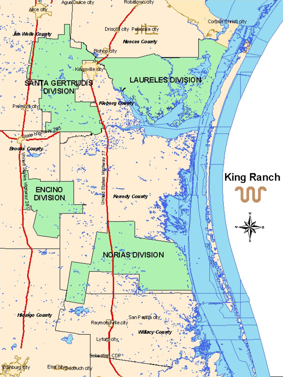 The history of the King ranch