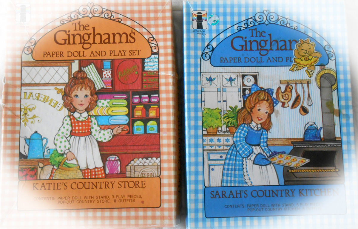 The Gingham's Paper Dolls