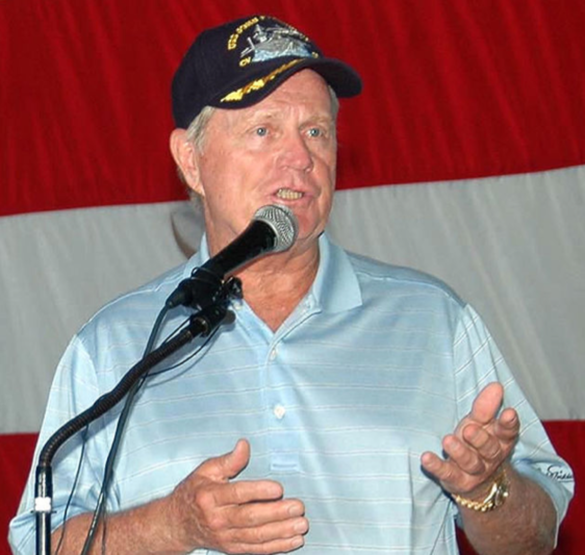 Jack Nicklaus, famous golfer from the United States who used the Egoscue Method.