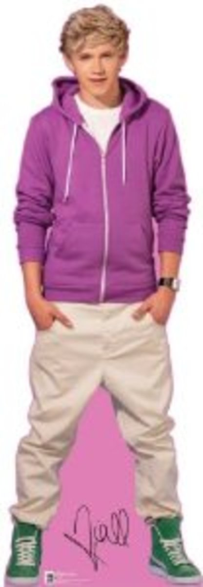 One Direction Life Size Standup Cutout