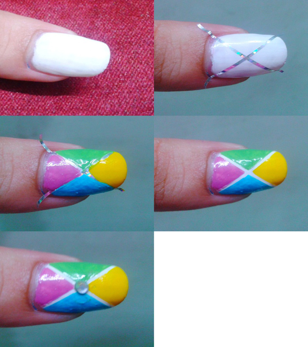 Striping Tape Nail Art Tutorial: Striping Tape Nail Art: Nail Art Trends For 2015