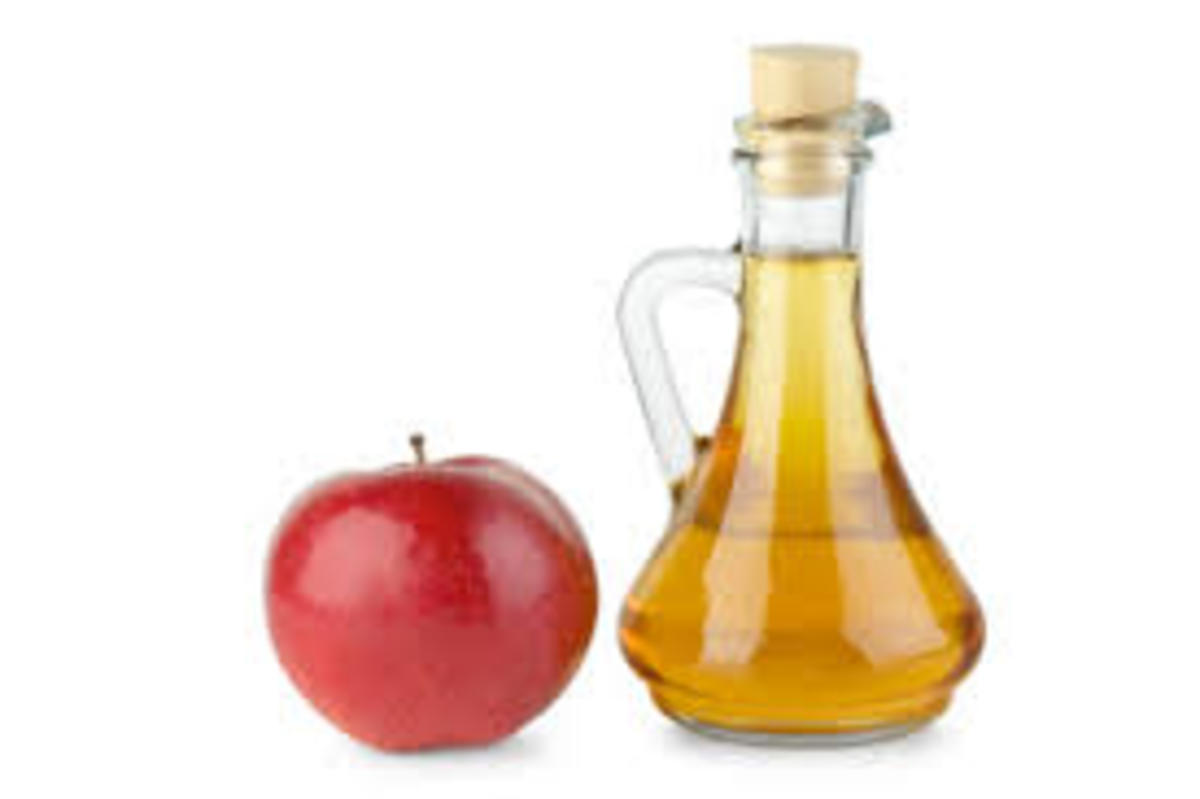 Vinegar helps bring shine to hair
