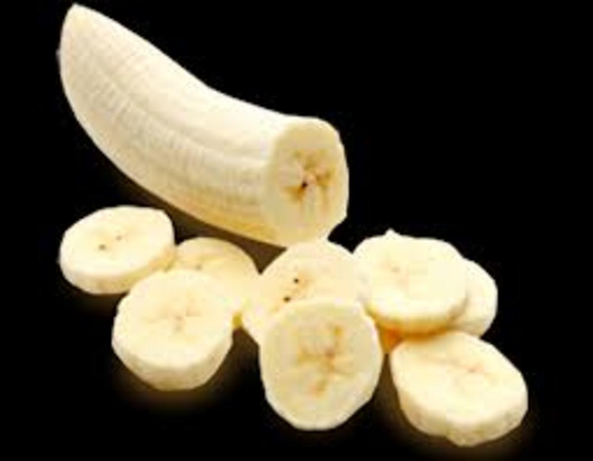 Banana Mask is effective for hair shine