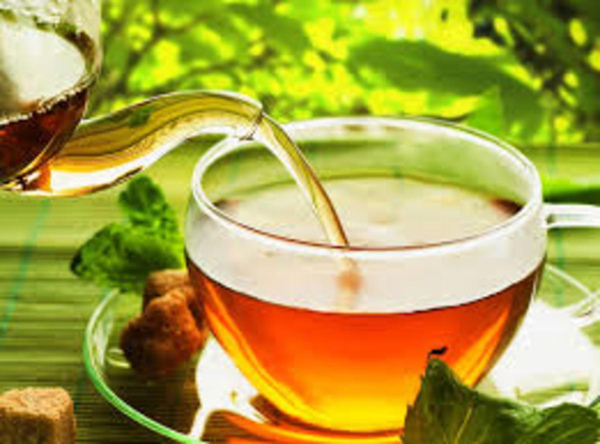 Green Tea prevents hair loss