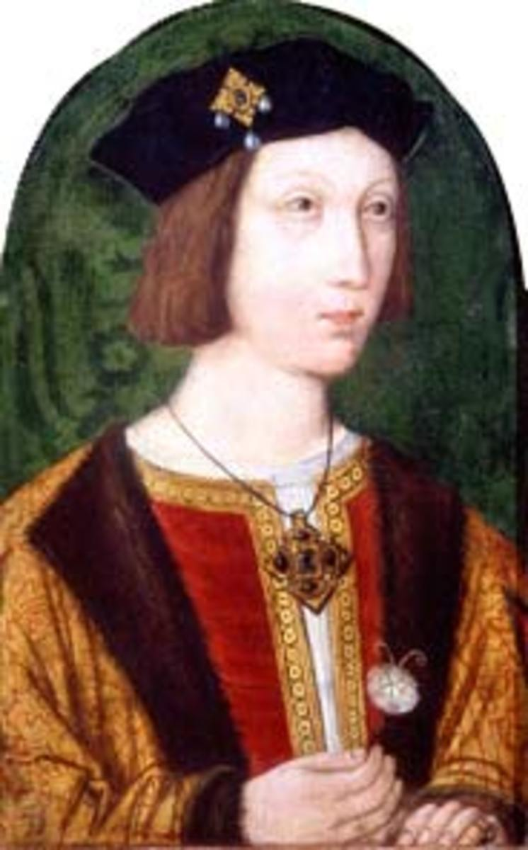 Catherine of Aragon married Arthur Tudor but the marriage lasted just six months