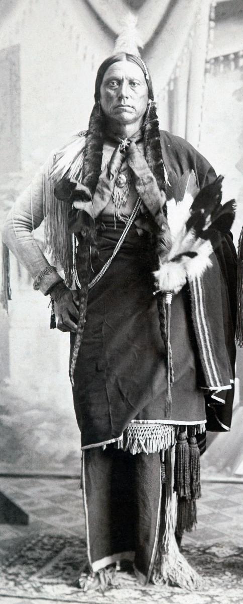 Quanah Parker, circa 1890