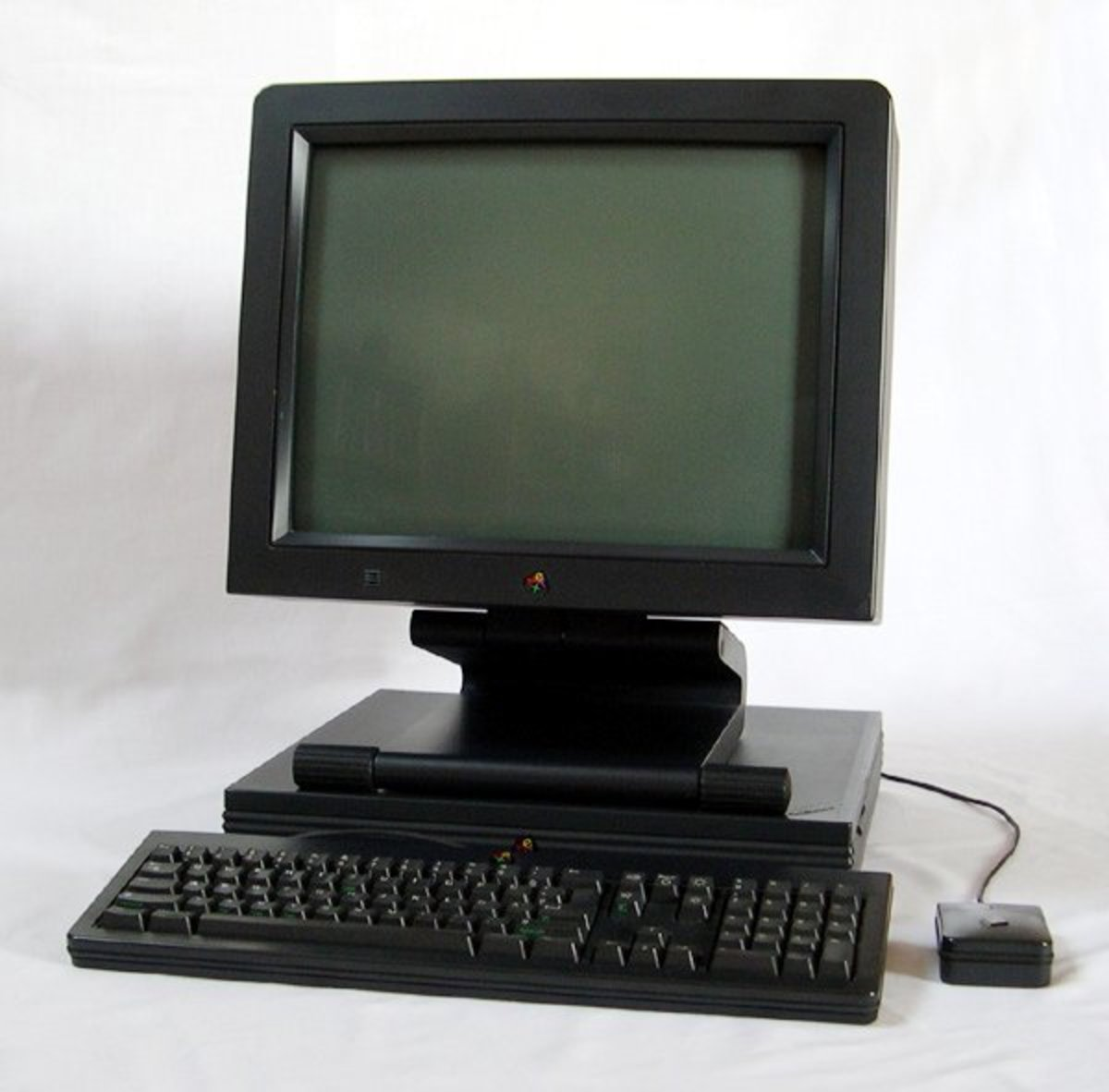 A NeXTstation computer, which was later bought by Apple for $7 million.