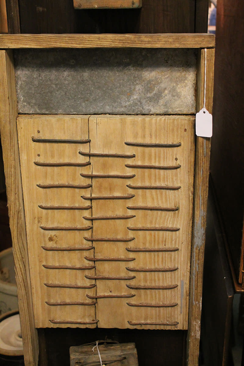 Handmade washboard
