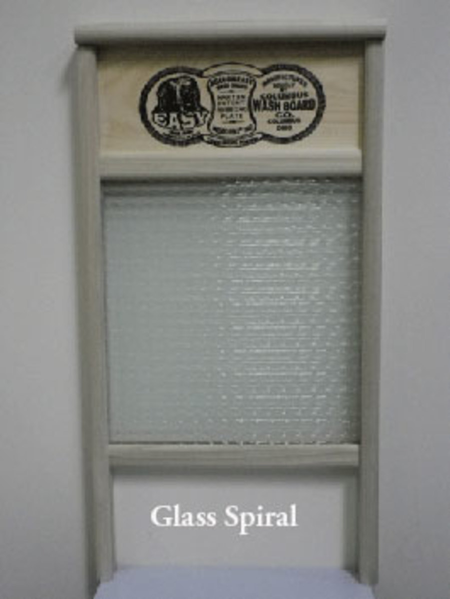 New Glass Washboard