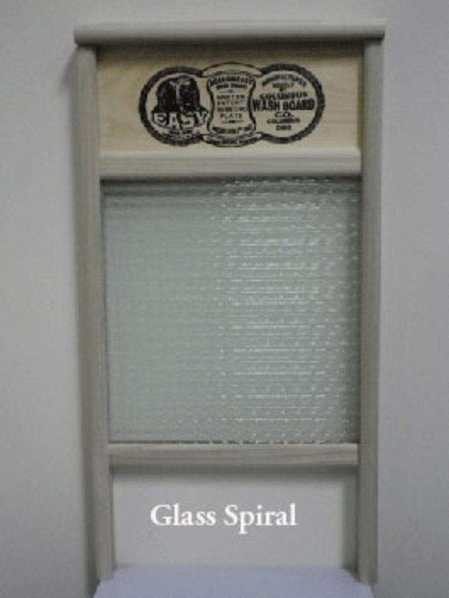 New Glass Washboard