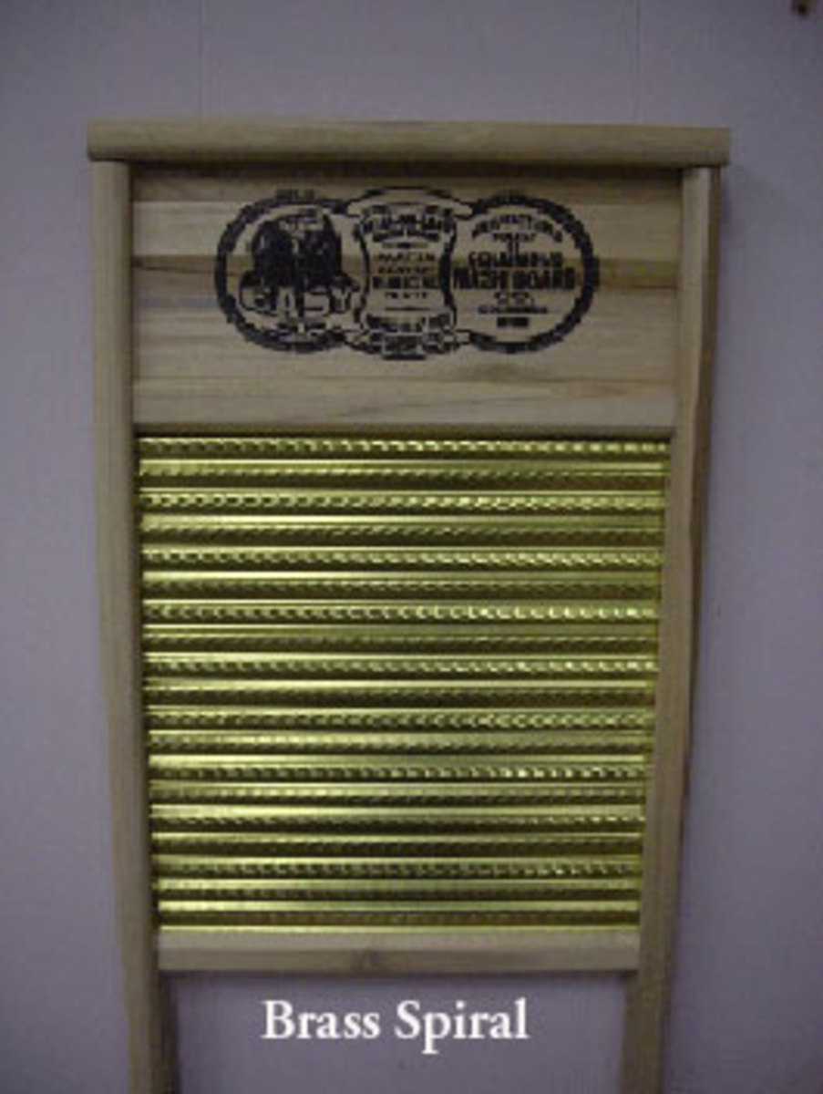 New Brass Washboard