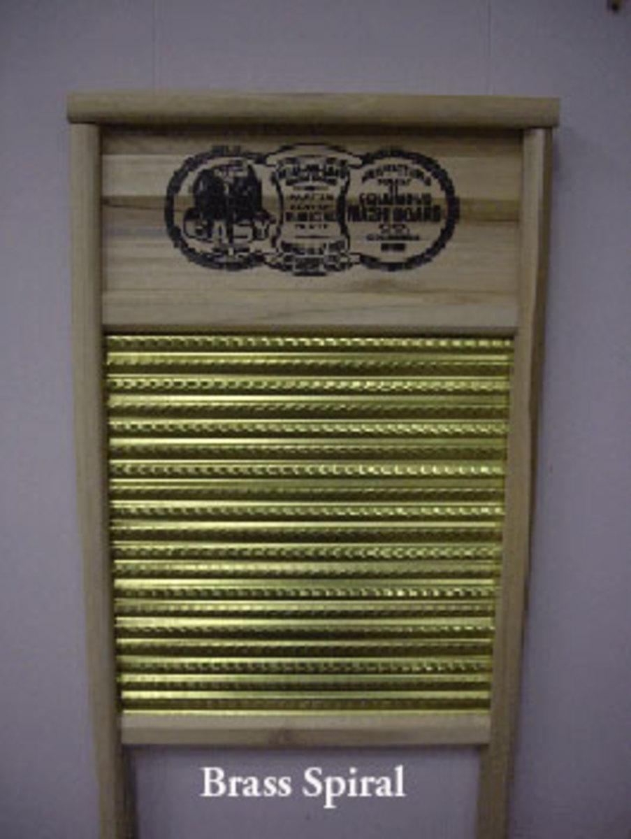 New Brass Washboard