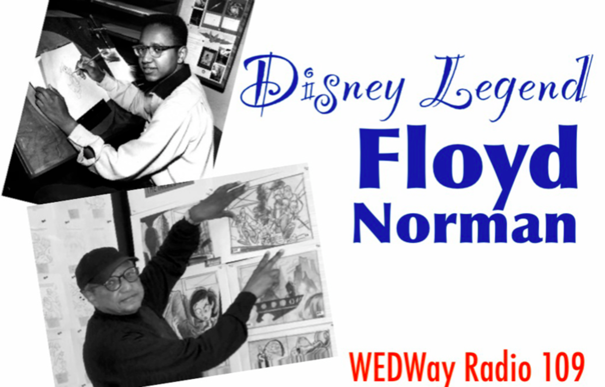 Floyd Norman, the first black animator at Disney Studios