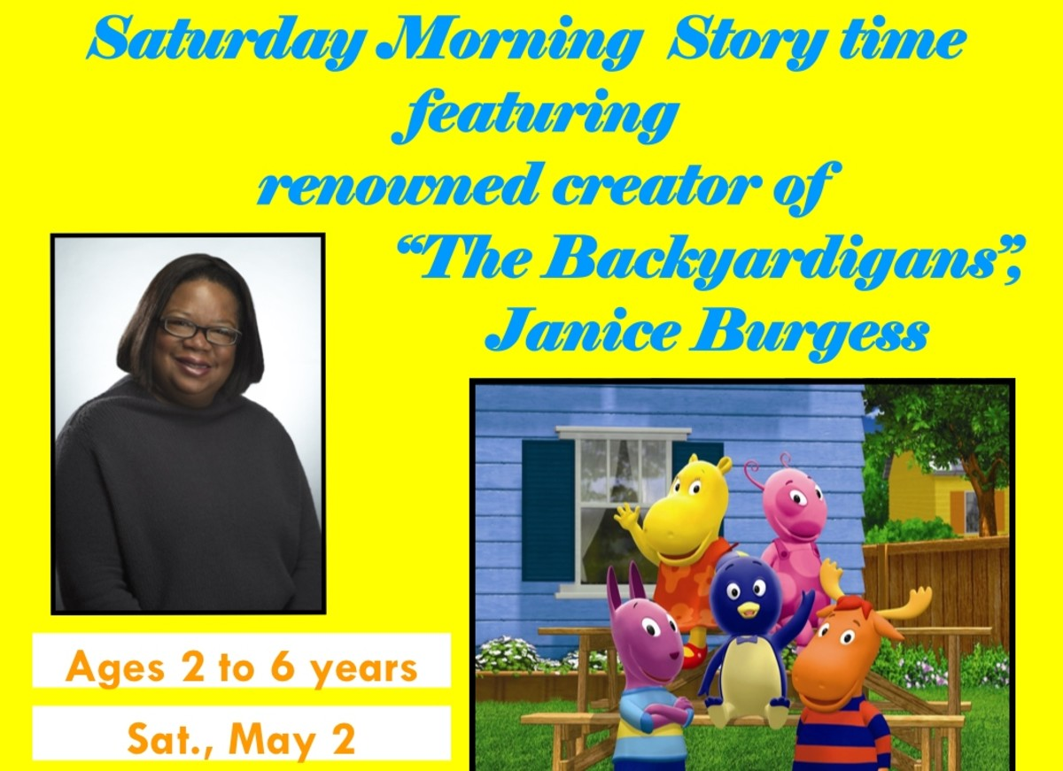 Janice Burgess, creator of the hit Nickelodeon preschool show, the Backyardigans.