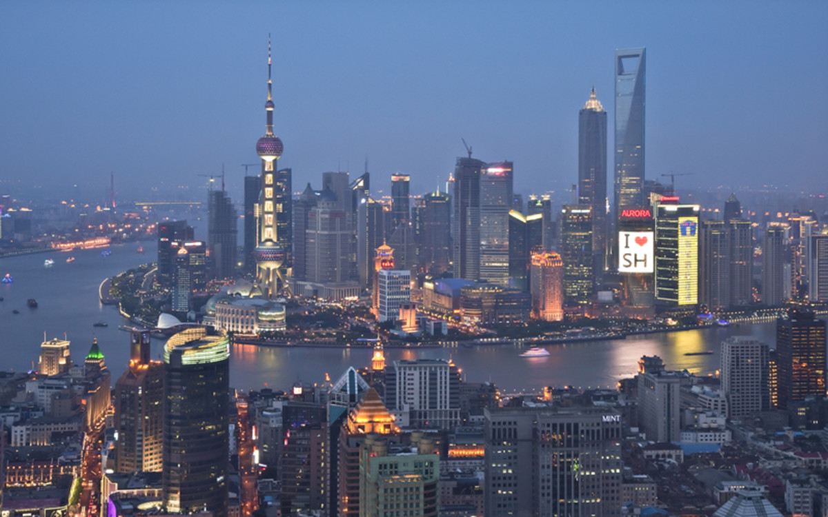 Shanghai at Night!