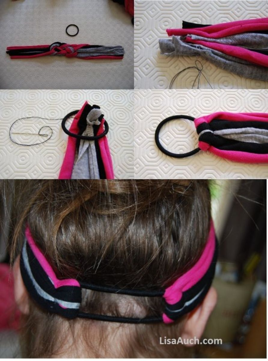 Diy make your own fabulous headbands using old t shirts for Make your own gym shirt